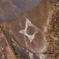 Petroglyph at Horsethief Lake