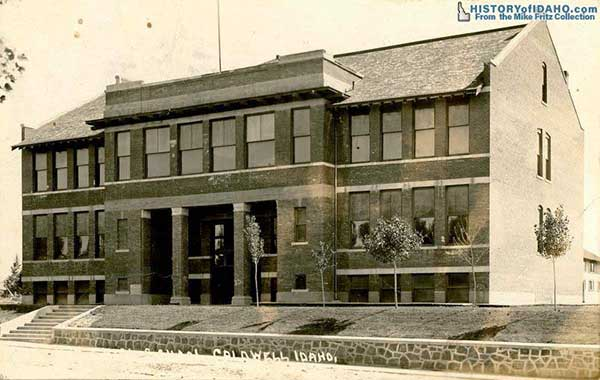 SchoolHighSchoolCaldwell1916Fritz-a