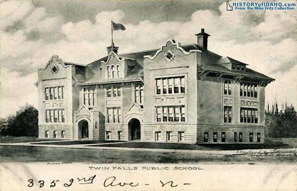 SchoolTwinFallsPublicSchool1910Fritz-a