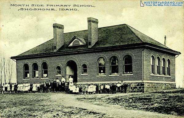 SchoolNorthSidePrimarySchoolShoshone1917Fritz-a
